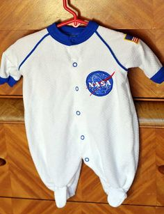 Finally found what i wanted woo hoo - NASA Baby Astronaut Onesie Size 03 months by WeLoveLucille on Etsy, $11.99