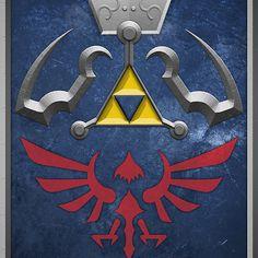 The Hylian Shield (The Legend of Zelda)