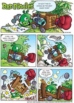 Bad Piggies Comic - Part 1/2