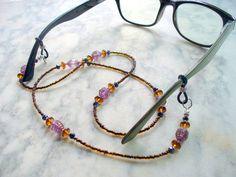 Boho Beaded Eyeglass Holder Eye Glass Chain by DLAbeaddesign