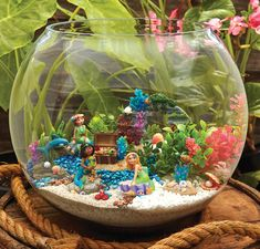 Just in! New Mermaid Fairy Garden Line at Prairie Gardens, www.prairiegardens.com