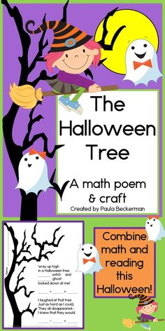 Halloween Math and Literacy Halloween Tree Class Book