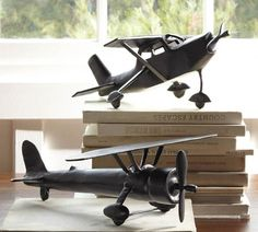 Sculptural Plane Objects | Pottery Barn