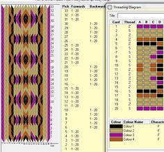 29 tarjetas, 4 colores, series 4F-4B // sed_192༺❁