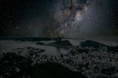 Thierry Cohen, Photographer Imagines What World Cities Would Look Like Without Lights