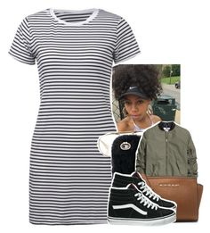 """Untitled #1420"" by toniiiiiiiiiiiiiii ❤ liked on Polyvore featuring CÉLINE, Michael Kors and Vans"