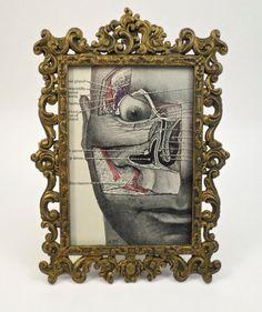 Vintage Anatomy Illustration  $18 @ ThriftHorseInc on Etsy