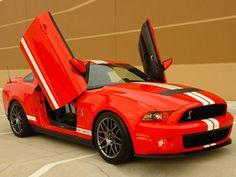 Shelby GT500 Gets Lambo Doors
