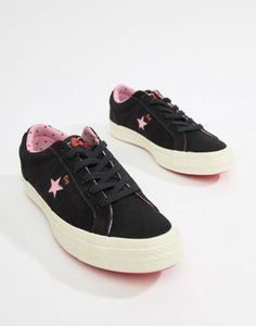 Image 1 of Converse X Hello Kitty One Star Sneakers One Star e5062991a