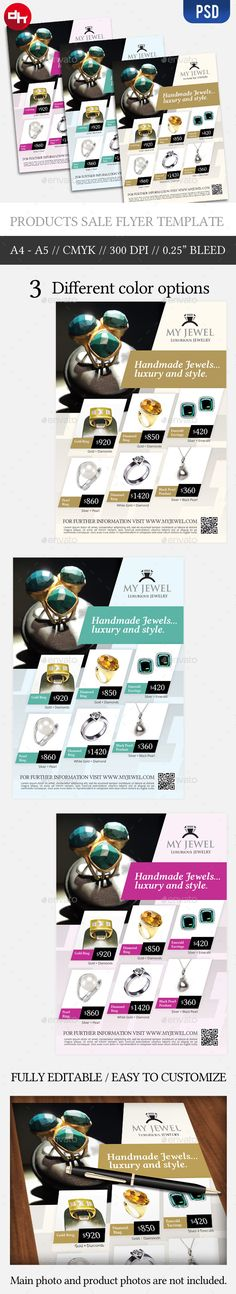 Jewel Sale.  	ad, advert, advertisement, best price, buy, campaign, commerce, discount flyer, flyer, handmade jewel, jewel, luxury, magazine, multipurpose flyer, multipurpose product sale flyer, product promotion flyer, promote, sale, showcase