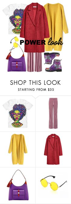 """""""Something Purple II"""" by steffilovesyou88 ❤ liked on Polyvore featuring AlexaChung, Chicwish, Dooney & Bourke, girlpower and powerlook"""