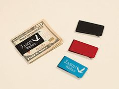 Personalized Laser Engraved Custom Money Clip (6.99 USD) by TheRightGiftLaser