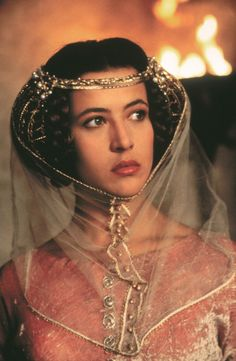 Sophie Marceau as Princess Isabella of France in Braveheart (1995).