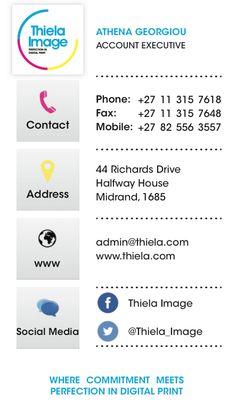 Premier corporate identity price list graphic design thiela image corporate identity business card design colourmoves