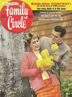 The October 1958 cover of Family Circle magazine.