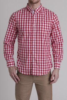 Faded Gingham Shirt