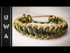 How to Make a Mad Max Paracord Cobra Stitch Bracelet Tutorial - YouTube
