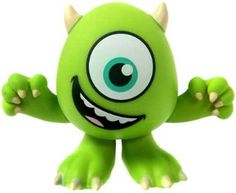 This vinyl figure makes a great cake or cupcake topper! Add Sulley to complete the look. Funko Disney / Pixar Mystery Mini Vinyl Figure Mike [Happy Face, Eye Wide Open]: For an entire themed party, wall decals are great for a party and can then be hung in the bedroom for a fresh new look to the decor.