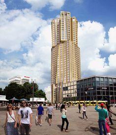 Gehry ontwerpt 150 meter hoge woontoren Berlijn.
