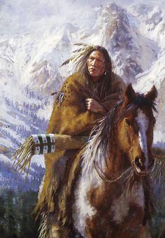 Native American Warriors | › Portfolio › Warriors of the High Country, Ute, Native American ...