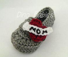 "Valentine's Day ""Heart Breaker"" Crocheted Infant/Toddler Loafers"
