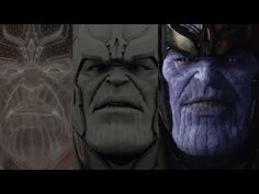 "THANOS ""Guardian of the Galaxy"" - VFX Breakdown #making #movies"