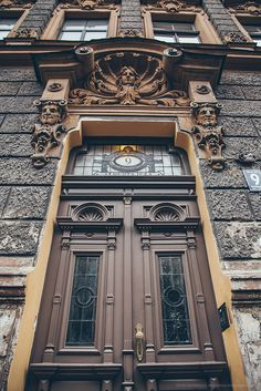 Door in Riga, Latvia