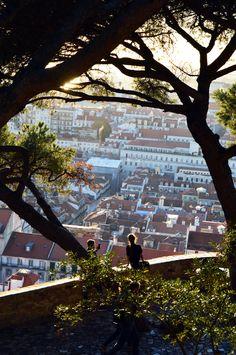 Lisbon Castle.