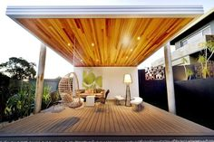 80 Outdoor Living and Dining Room Ideas 2017 - Outdoor Relaxing Place Design - Watch Video - Home Decor Outdoor Living Rooms, Outdoor Spaces, Outdoor Decor, Outdoor Fun, Home Garden Design, Deck Design, Ideas 2017, Alfresco Area, Relaxing Places
