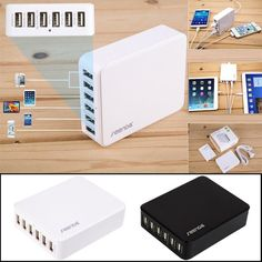 USB Charger Adapter for iPhone iPad Samsung Galaxy