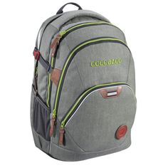 Coocazoo City and School EvverClevver 2 Rucksack 45 cm Checkered Bolts Laptop Rucksack, North Face Backpack, The North Face, Backpacks, Denim, Grey, Eva Schaum, Hama, School