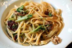 Blogschokolade & Butterpost: Pasta mit Brokkoli und Bacon