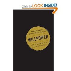 No matter what I write it will not do this book justice. There is great info on the connection between glucose and willpower, and tips on better decision making that are useful in the real world.