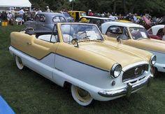 1958 (my birth year) metropolitan nash convertible (my favorite car) in yellow (my favorite color!)