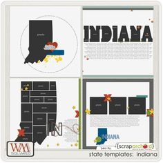Indiana templates at Scrap Orchard
