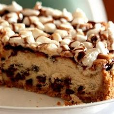 Would be great for summer.Smore Cheesecake