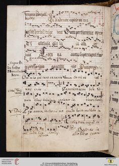 Antiphonarium Cisterciense Salem, um 1200 Cod. Sal. X,6b  Folio 143v