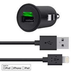 Belkin Car Charger with Lightning Cable for Apple iPhone 5 / 5S / 5c, iPad 4th Gen, iPad mini, iPod touch 5th Gen, and iPod nano 7th Gen (2.1 AMP / 10 Watt) Belkin,http://www.amazon.com/dp/B00AIQHQZS/ref=cm_sw_r_pi_dp_H63Isb0BG66ZJ9CJ