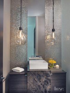 Badezimmer Design Ideen offenen Regal unterhalb der Arbeitsplatte ... | {Arbeitsplatte bad 48}