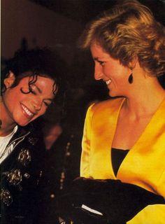 .Princess Diana and Michael Jackson.