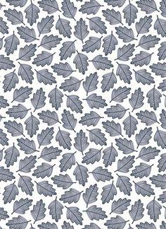 Oak Leaf Surface Pattern - Helena Leslie