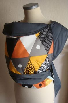 mei tai / BABY CARRIER /reversible mei tai / baby carrier /sling for mothers and fathers grey and colours double faced baby carrier