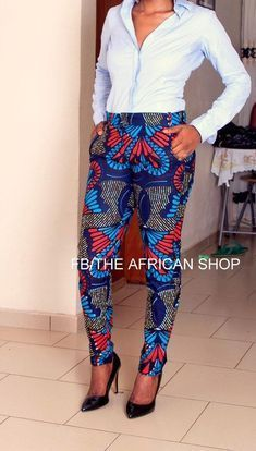 ~Latest African Fashion, African Prints, African fashion styles, African clothin… By Diyanu - African Plus Size Clothing at D'IYANU African Inspired Fashion, African Print Fashion, Africa Fashion, Fashion Prints, African Prints, African Print Pants, African Women Fashion, Fashion Patterns, African Dresses For Women
