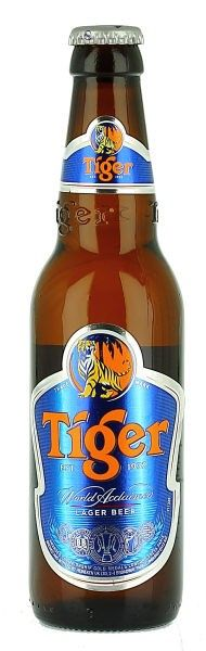 35. Tiger 330ml | Asia Pacific Breweries Limited  SINGAPORE  The only beer they served at Gilgamesh, Camden Town London May 2014