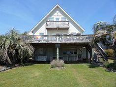 Island Bungalow - 2ND Row house - Holden Beach, Brunswick Islands | RentABeach