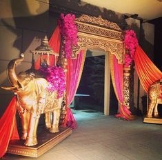 Sangeet Inspiration! For Indian Wedding Decorations in the Bay Area, California; Contact R&R Event Rentals, Located in Union City & serving the Bay Area and Beyond. #indianweddingdecorations