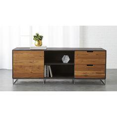 Congo Media Credenza Large // mango and teak wood // $999