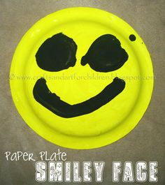 Smiley Face Crafts & Easy Paper Plate Smiley Face | Pinterest | Smiley Yarns and Face