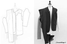 Mason Jung 'Assemblage' RCA grad menswear 2009