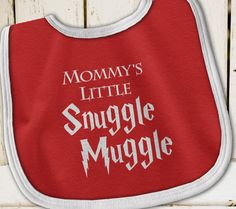 Harry Potter Baby, Mommy's Little Snuggle Muggle, Harry Potter Bib, Harry Potter…